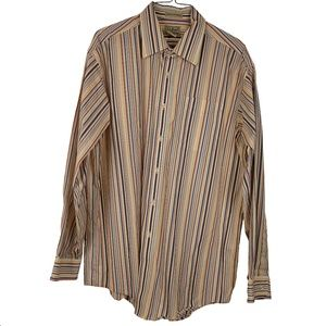 L.L Bean Men's Large Pinstripe Shirt